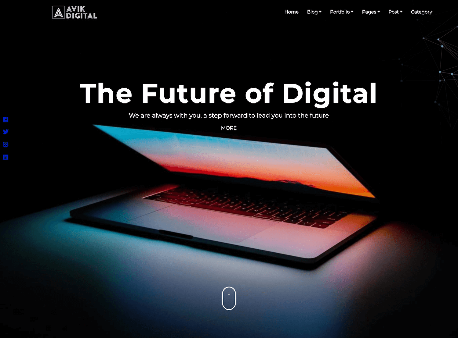 Demos Avik Portfolio Theme WordPress