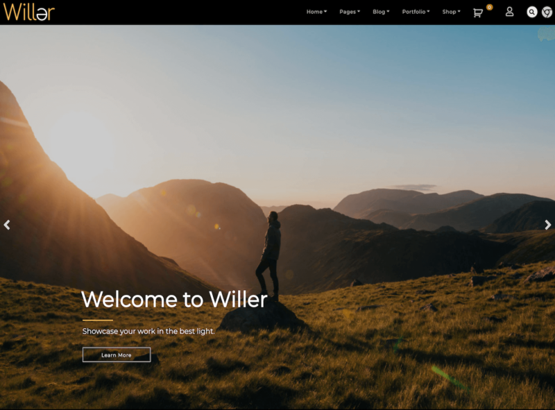 wordpress-theme-willer
